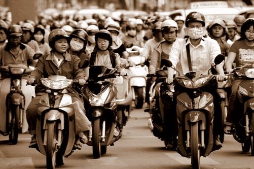 Tomasz Bonek w Wietnamie