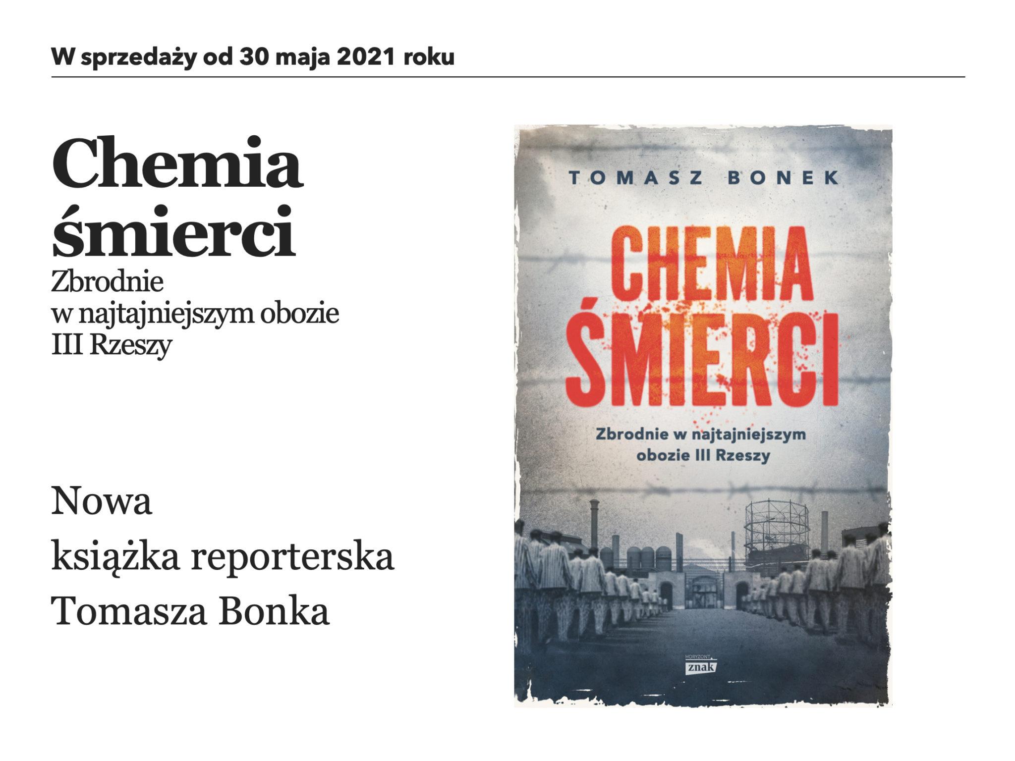 Chemia śmierci - Tomasz Bonek